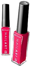 Parfémy, Parfumerie, kosmetika Lak na nehty - Silcare Nail Art