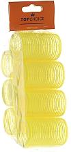 """Parfémy, Parfumerie, kosmetika Natáčka-suchý zip na vlasy """"Velcro'' 35mm, 8ks, 0355 - Top Choice"""