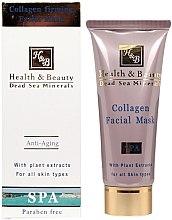 Parfémy, Parfumerie, kosmetika Kolagenová zpevňující pleťová maska - Health And Beauty Collagen Firming Facial Mask