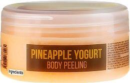 Parfémy, Parfumerie, kosmetika Scrub na tělo Ananasový jogurt - Hristina Stani Chef's Pineapple Yogurt Body Peeling