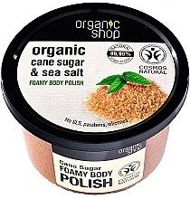 "Parfémy, Parfumerie, kosmetika Pěnový tělový peeling ""Třtinový cukr"" - Organic Shop Foamy Body Scrub Organic Cane Sugar & Sea Salt"