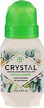 Parfémy, Parfumerie, kosmetika Kolečkový deodorant s vůní vanilky a jasmínu - Crystal Essence Deodorant Roll-On Vanila Jasmine