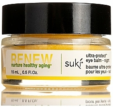 Parfémy, Parfumerie, kosmetika Noční balzám na pleť kolem očí - Suki Renew Ultra-Protect Eye Balm Night