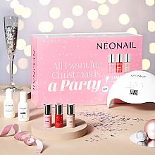 Parfémy, Parfumerie, kosmetika Sada - NeoNail Professional Party Set (nail/polish/3x7.2 + led + nail/clean/50ml + rem/50ml + nail/wrarps/50pc + warstw/250pc + chopstick/10pc)