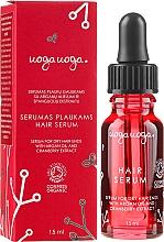 Parfémy, Parfumerie, kosmetika Suché sérum na vlasy s arganovým olejem a brusinkovým extraktem - Uoga Uoga Rejuvenating & Protective Serum