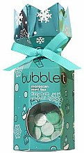 Parfémy, Parfumerie, kosmetika Sada Marokánský čaj s mátou - Bubble T Bath Fizzy Moroccan Mint Tea (bomb/100g+confetti/25g)