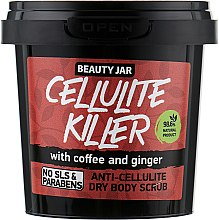 "Parfémy, Parfumerie, kosmetika Tělový peeling proti celulitidě ""Cellulite Killer"" - Beauty Jar Anti-Cellulite Dry Body Scrub"