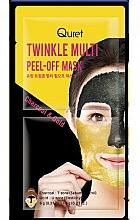 Parfémy, Parfumerie, kosmetika Exfoliační pleťová maska - Quret Twinkle Multi Peel-Off Mask