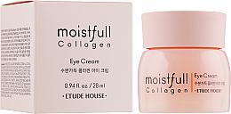 Parfémy, Parfumerie, kosmetika Oční krém s kolagenem - Etude House Moistfull Collagen Eye Cream