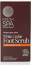 Parfémy, Parfumerie, kosmetika Peeling na nohy - Natura Siberica Fresh Spa Russkaja Bania Detox White Cedar Foot Scrub