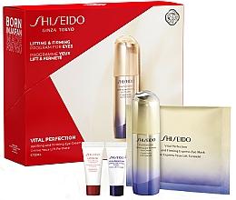 Parfémy, Parfumerie, kosmetika Sada - Shiseido Vital Perfection (eye/cr/15ml + conc/5ml + cr/5ml + mask/1pcs)