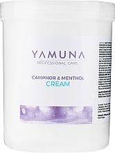 Parfémy, Parfumerie, kosmetika Masážní krém Kafr a mentol - Yamuna Camphoros Mentolos Cream
