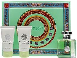 Parfémy, Parfumerie, kosmetika Versace Versense - Sada (edt/50ml + b/lot/50ml + sh/gel/50ml)