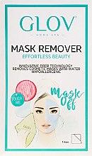Parfémy, Parfumerie, kosmetika Rukavice pro odstranění masky růžová - Glov Mask Remover