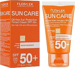 Parfémy, Parfumerie, kosmetika Ochranný tonizující krém na smíšenou až mastnou pleť SPF 50 - Floslek Sun Protection Cream SPF50+