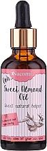 Parfémy, Parfumerie, kosmetika Olej ze sladké mandle s pipetkou - Nacomi Sweet Almond Oil