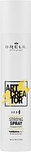 Parfémy, Parfumerie, kosmetika Sprej silná fixace - Brelil Art Creator Strong Spray