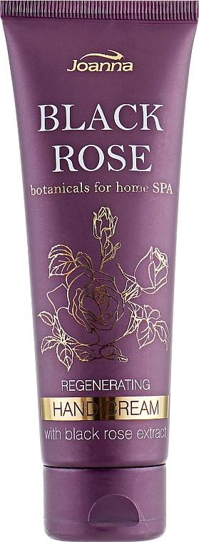 Regenerační krém na ruce s extraktem z černé růže - Joanna Botanicals For Home Spa Regenerating Hand Cream Black Rose