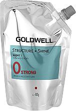 Parfémy, Parfumerie, kosmetika Zjemňující krém pro nepoddajné vlasy - Goldwell Structure + Shine Agent 1 Strong 0