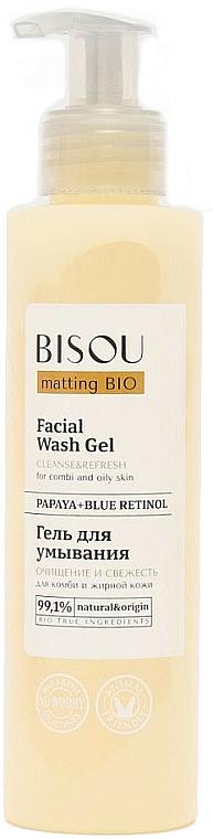 Čisticí gel Čištění a svěžest - Bisou Matting Bio Facial Wash Gel