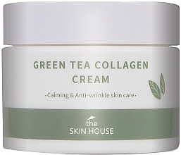 Parfémy, Parfumerie, kosmetika Uklidňující krém s výtažkem z kolagenu a zeleného čaje - The Skin House Green Tea Collagen Cream