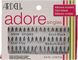 Parfémy, Parfumerie, kosmetika Umělé řasy v trsech - Ardell Adore Singles
