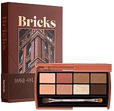 Parfémy, Parfumerie, kosmetika Paletka cieni do powiek - Heimish Dailism Eye Palette Brick Brown