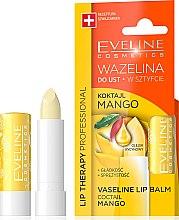 """Parfémy, Parfumerie, kosmetika Balzám na rty """"Mango"""" - Eveline Cosmetics Lip Therapy Proffesional Vaseline Lip Balm"""