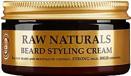 Parfémy, Parfumerie, kosmetika Krém pro úpravu vousů - Recipe For Men RAW Naturals Beard Styling Cream