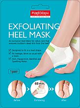 Parfémy, Parfumerie, kosmetika Exfoliační peeling maska na paty - Purederm Exfolaiting Heel Mask