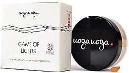 Parfémy, Parfumerie, kosmetika Rozjasňovač - Uoga Uoga Game Of Lights Highlighting Powder