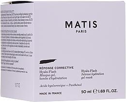 Parfémy, Parfumerie, kosmetika Intenzivně hydratační pleťová gel-maska - Matis Reponse Corrective Hyalu-Flash Intense Hydration Gel Mask