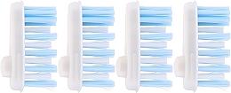 Parfémy, Parfumerie, kosmetika Náhradní hlavice k zubnímů kartáčku, měkké - Yaweco Toothbrush Heads Nylon Soft