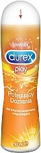 Parfémy, Parfumerie, kosmetika Intimní lubrikační gel Play Warming - Durex Play Warming