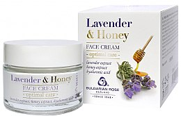 Parfémy, Parfumerie, kosmetika Krém na obličej - Bulgarian Rose Lavender & Honey Cream