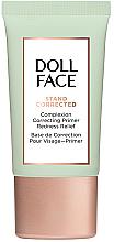 Parfémy, Parfumerie, kosmetika Korekčni báze na obličej s zarudnutím - Doll Face Stand Corrected Complexion Equalizer Primer