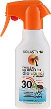 Parfémy, Parfumerie, kosmetika Opalovací sprej pro děti - Kolastyna Suncare for Kids Spray SPF 30