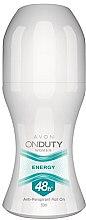 Parfémy, Parfumerie, kosmetika Deodorant-antiperspirant - Avon On Duty Energy 48H Anti-persrirant