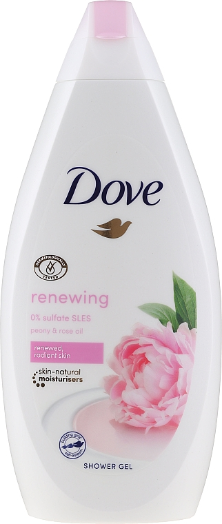 Krémový sprchový gel - Dove Renewing Shower Gel