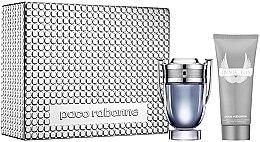 Parfémy, Parfumerie, kosmetika Paco Rabanne Invictus - Sada (edt/100ml + sh/gel/100ml)