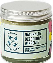 Parfémy, Parfumerie, kosmetika Krémový deodorant s citrusově bylinnou vůní - Cztery Szpaki