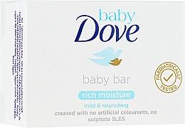 Parfémy, Parfumerie, kosmetika Mýdlo - Dove Baby Bar Rich Moisture
