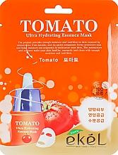 Parfémy, Parfumerie, kosmetika Látková pleťová maska s extraktem z rajčat - Ekel Tomato Ultra Hydrating Mask