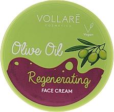 Parfémy, Parfumerie, kosmetika Pleťový krém s olivovým olejem - Vollare Regenerating Olive Oil Face Cream