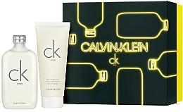 Parfémy, Parfumerie, kosmetika Calvin Klein CK One - Sada (edt/200ml + b/lot/200ml)