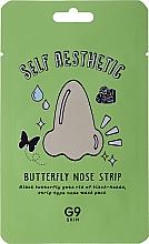 Parfémy, Parfumerie, kosmetika Náplast na nos proti černým tečkám Motýl (1 ks.) - G9Skin Self Aesthetic Butterfly Nose Strip