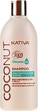 Parfémy, Parfumerie, kosmetika Obnovující šampon na vlasy - Kativa Coconut Shampoo