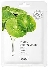 Parfémy, Parfumerie, kosmetika Maska pro každodenní použití Pupečník asijský - Yadah Daily Green Mask Cica