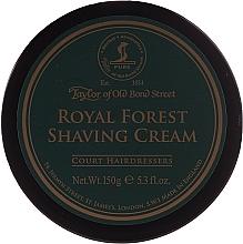 Parfémy, Parfumerie, kosmetika Krém na holení - Taylor of Old Bond Street Royal Forest