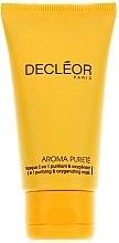 Parfémy, Parfumerie, kosmetika Čistící okysličovácí maska na obličej - Decleor Aroma Purete Masque 2 en 1 Purifiant & Oxygenant